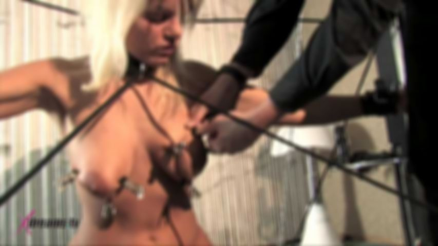 Martina's Day Of Humiliation At Bondage Frame