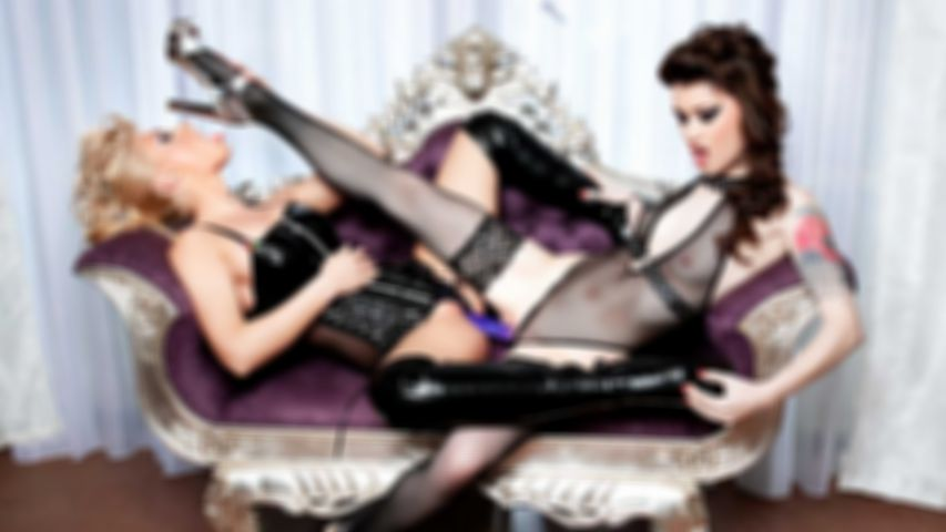 PVD S01E03 - Misha Cross and Ginger Devil in a very hot lesbian scene