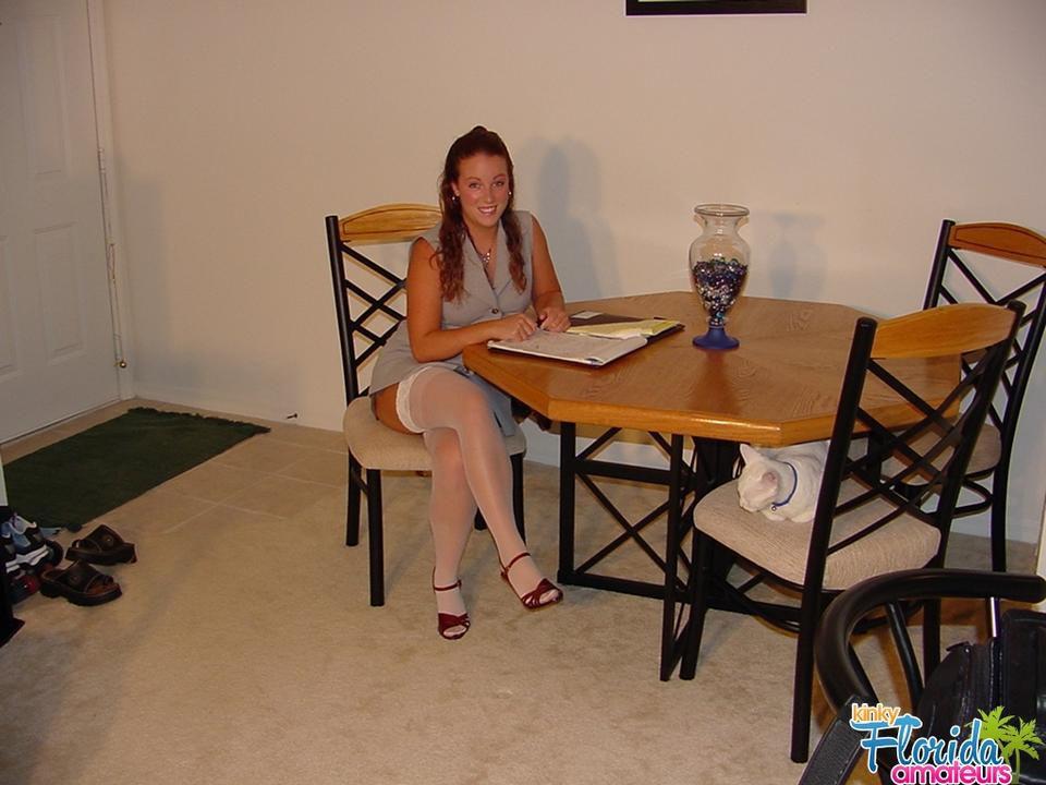 Kinky Teen Cynna Lynn Comes Home From Job Interview..Upskirt