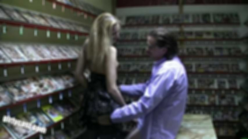 Decoy in the video library - public sex