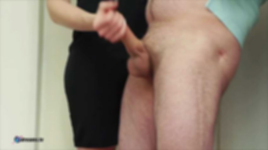 Penny's Handjob To Subdue Her Husband