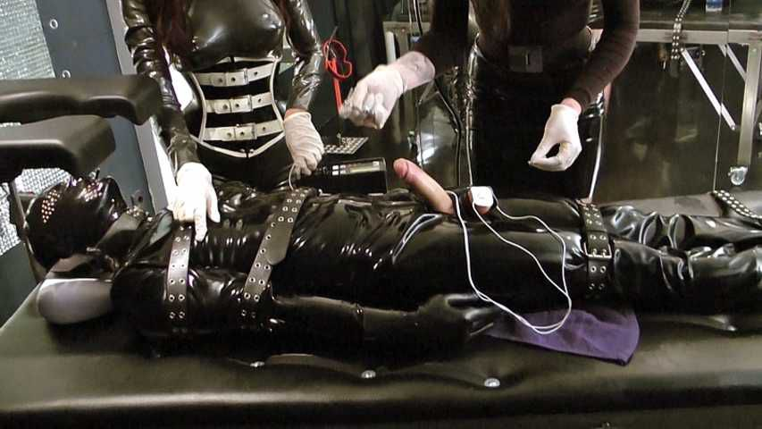 Lady Ashley & Mistress Zita - Rubber Toys Double Trouble