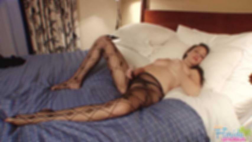 Kinky Pantyhose Fetish And Big Tits