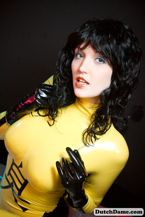 Yellow Catsuit