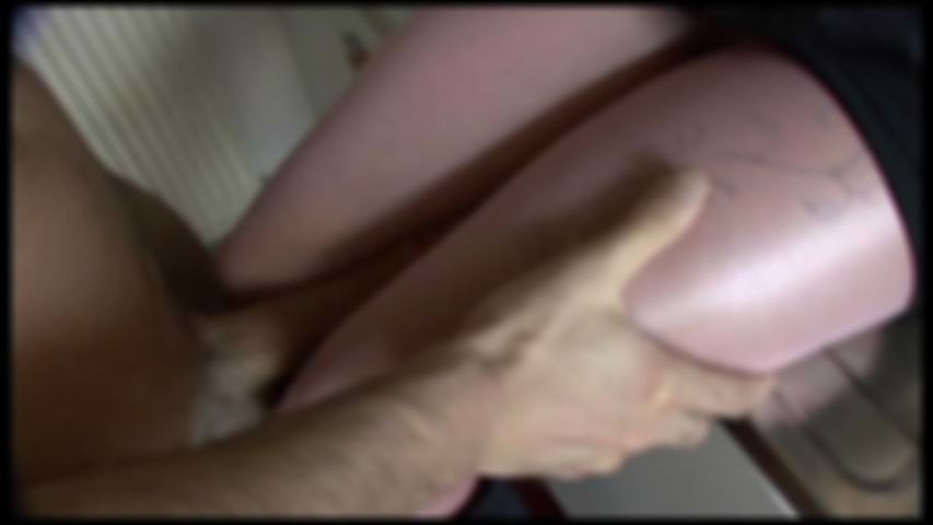 22 Double shinny pink pantyhose Fuck