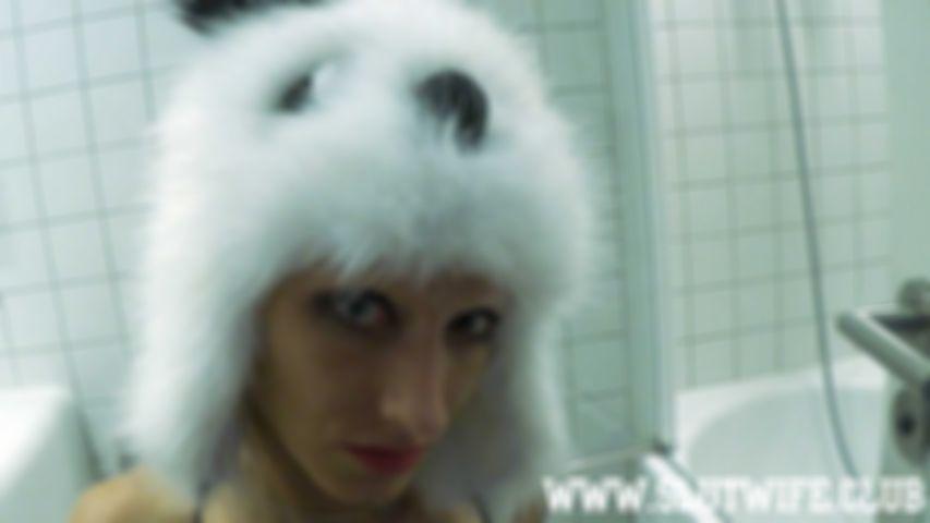 [Blown'n'Gag] Vilja took her panda hat on and gets fucked in her panda snout
