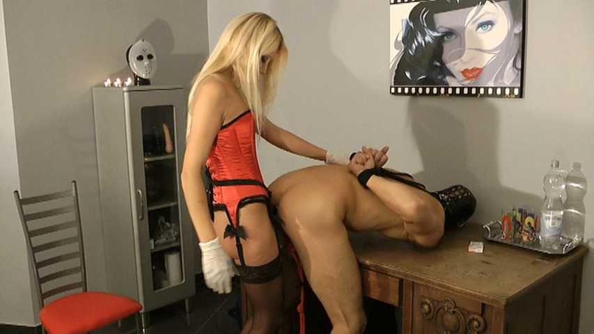 Natalie Black - Your virgin ass get fucked now