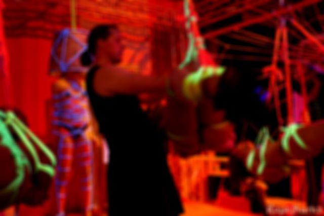 Blacklight installation @ Wasteland 20 year anniversary