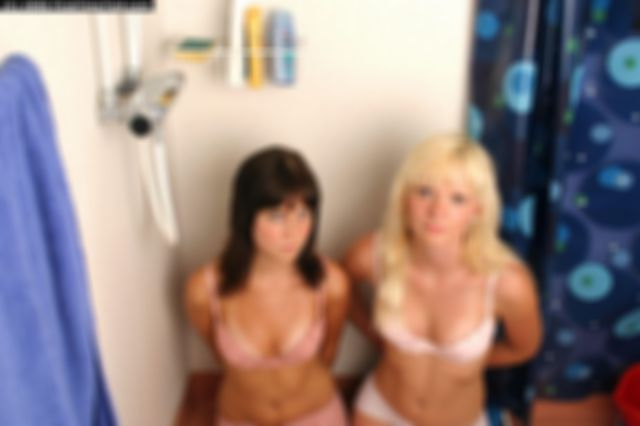 MIKAELA AND ELISABET HANDCUFFED AND BALLGAGGED IN UNDERWEAR