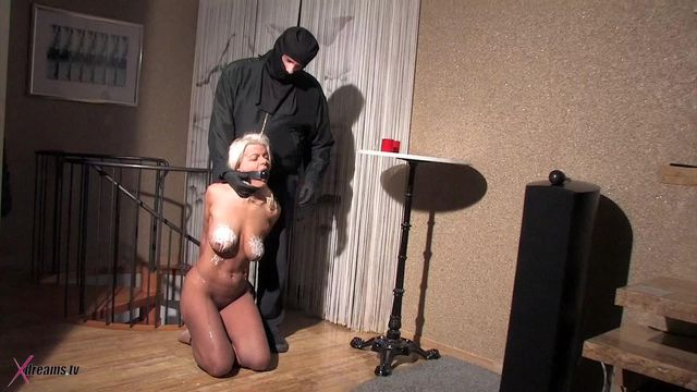 Martina's Erotic Bondage And Hot Wax Torment