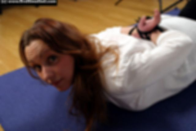 PERNILLA HOGTIED THE VERY FIRST TIME