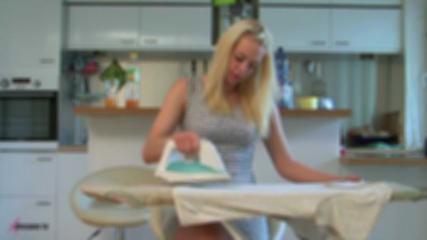 Penny's Cock Ironing And Cum Burning Handjob