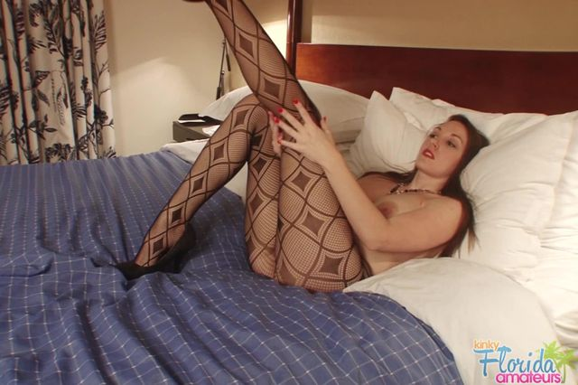 Kinky Pantyhose Fetish And Big Tits